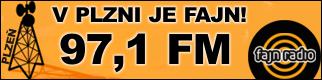 Fajn r�dio v Plzni na 97.1FM, Klatovech 100.6FM, Karlovy Vary 92.2FM